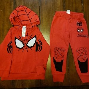 Spiderman Jogger Set